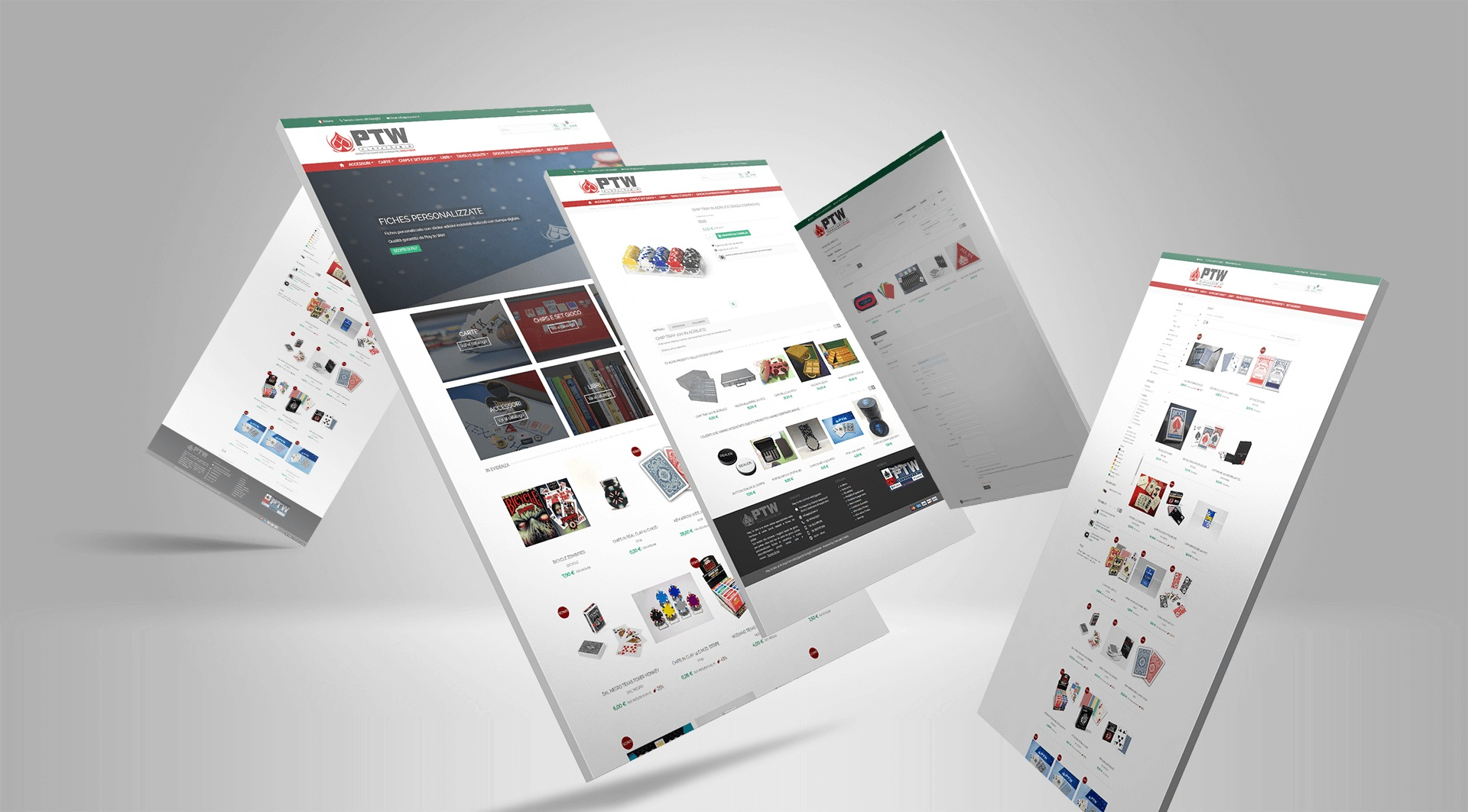 Responsive Design eCommerce Play To Win